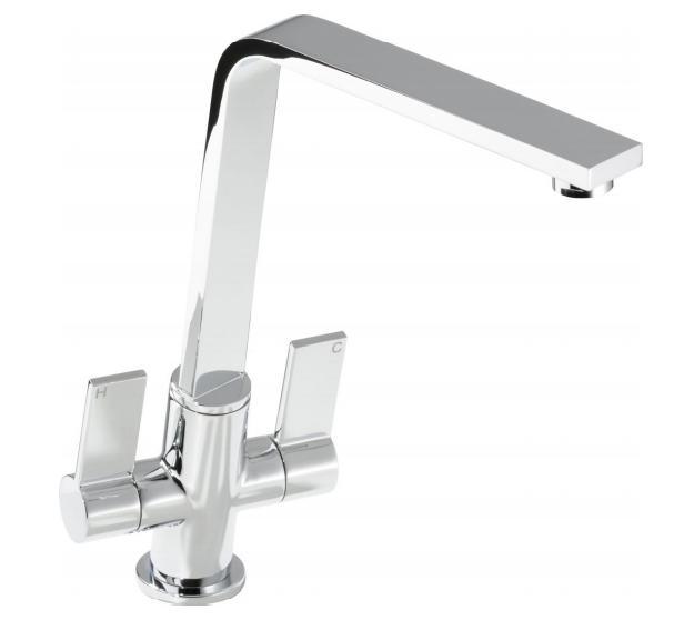 Sinks & Taps LINEAR FLAIR KITCHEN SINK MIXER TAP image