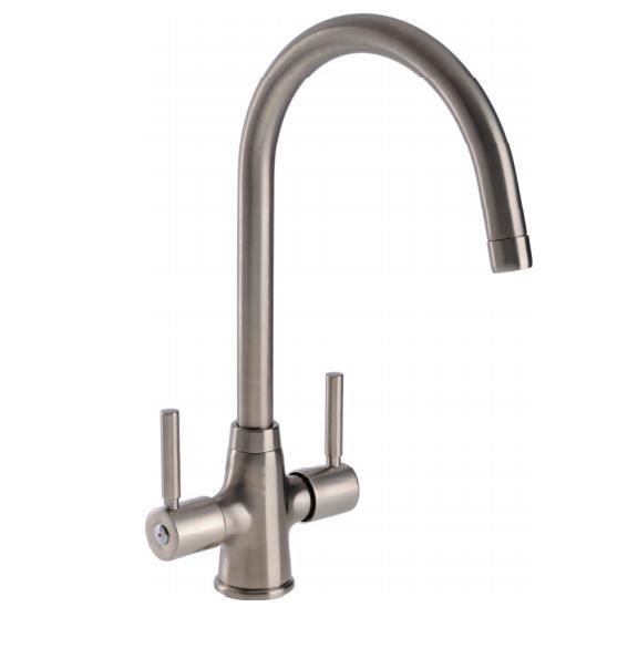 Sinks & Taps BECK BRUSHED KITCHEN SINK MIXER TAP image
