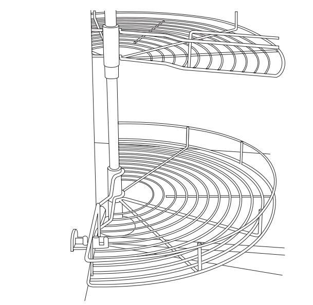 Wirework 3/4 CHROME CAROUSEL image