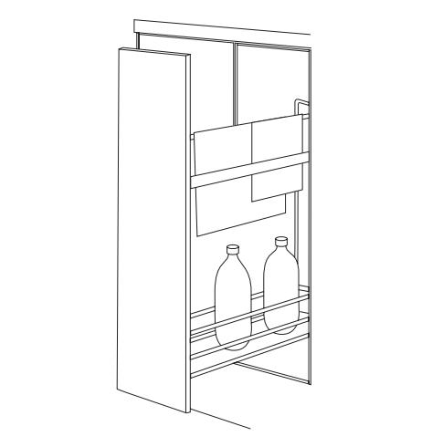 Wirework DYNAMIC PULL OUT TOWEL RAIL image
