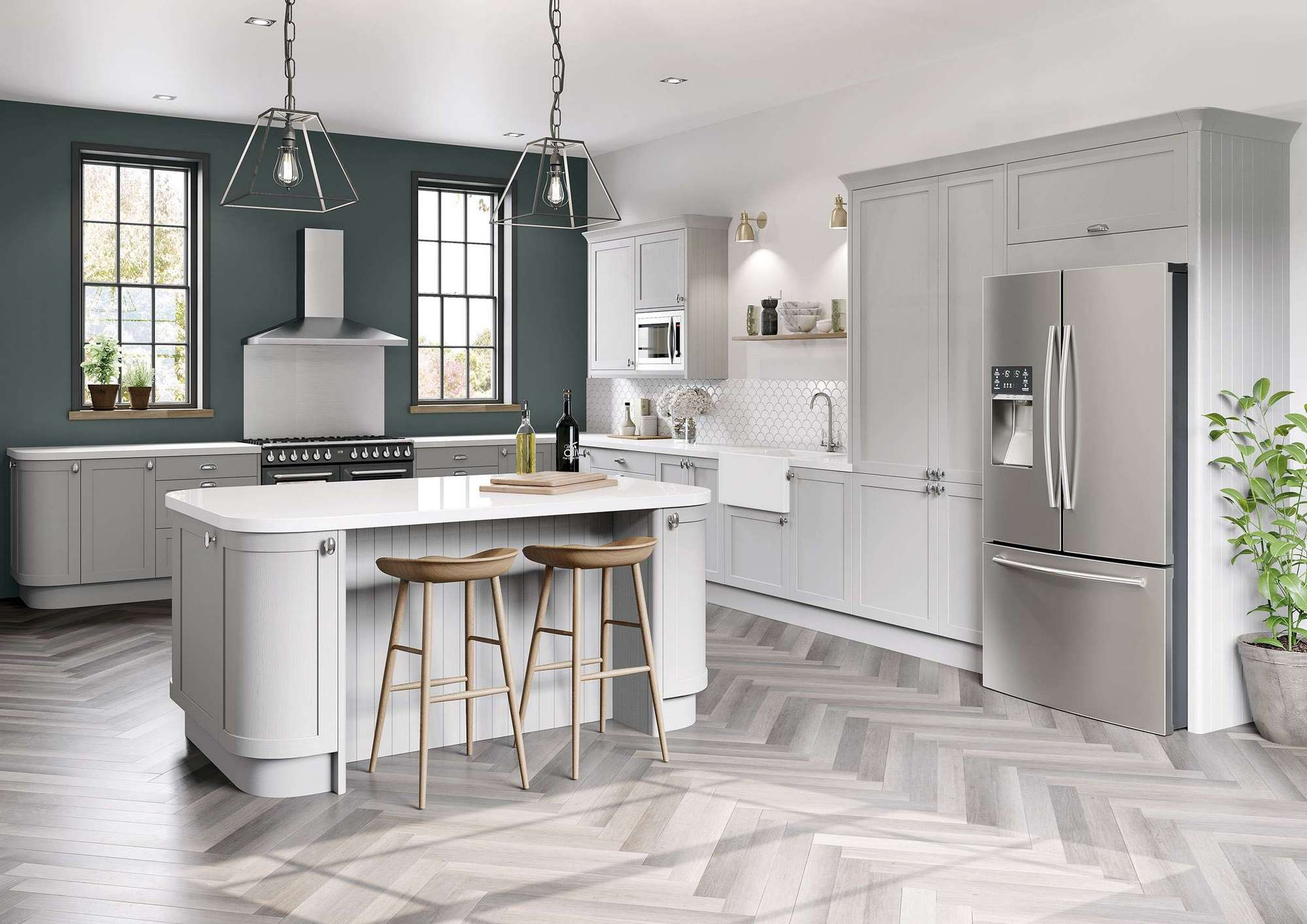 5 Colours for Modern Kitchen Trends in 2021 image
