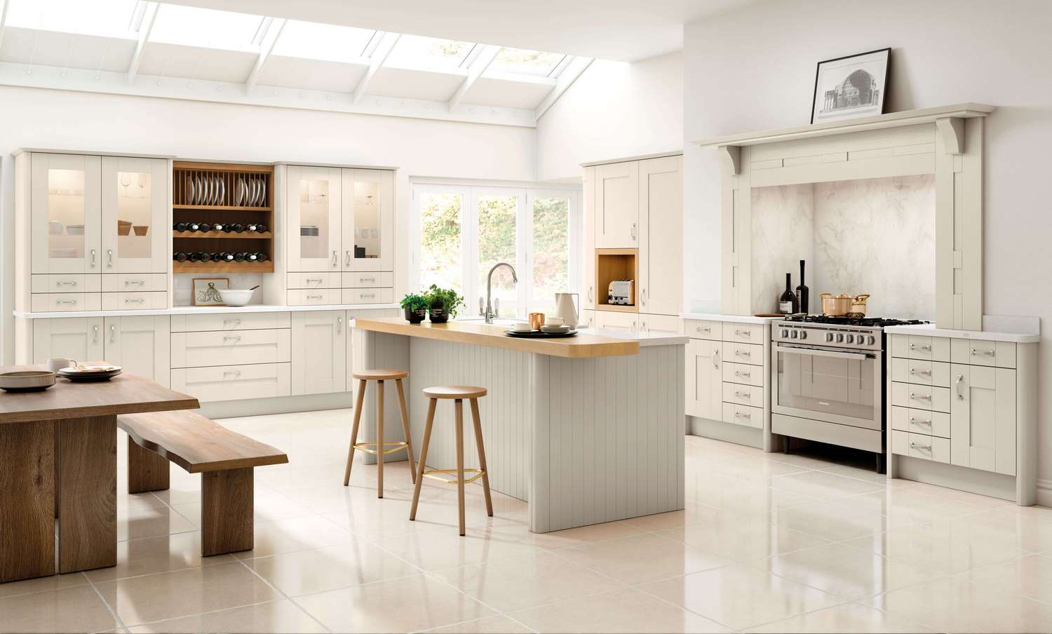 New Traditional fitted Kitchens in cashmere TKC-kitchen pic