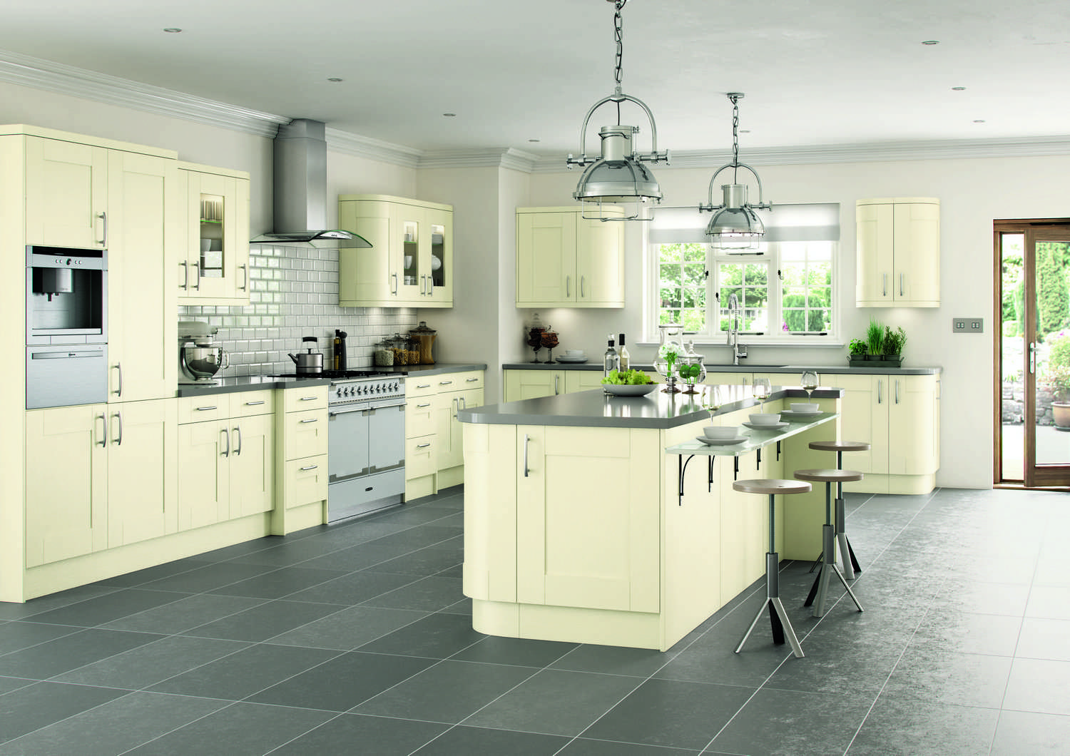 New Traditional fitted Kitchens in ivory TKC-kitchen pic