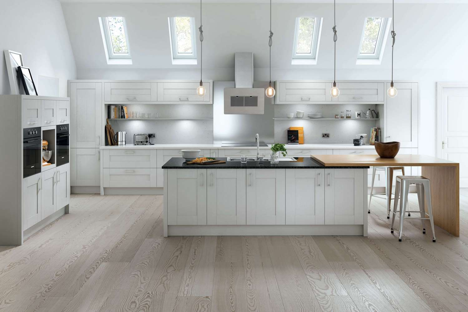 New Traditional fitted Kitchens in light grey TKC-kitchen pic