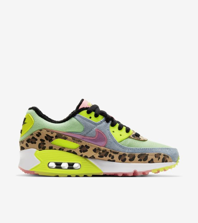 Air Max 90 Illusion Green/Sunset Pulse (ウィメンズ) [2]