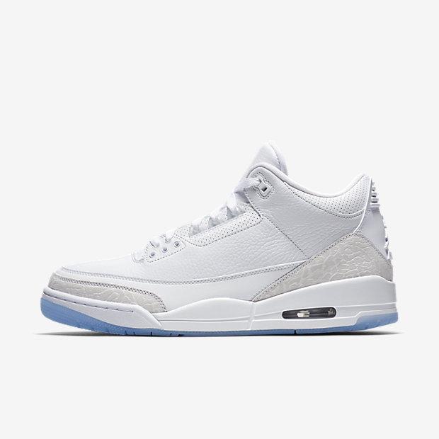 Air Jordan 3 Retro Pure White (2018)