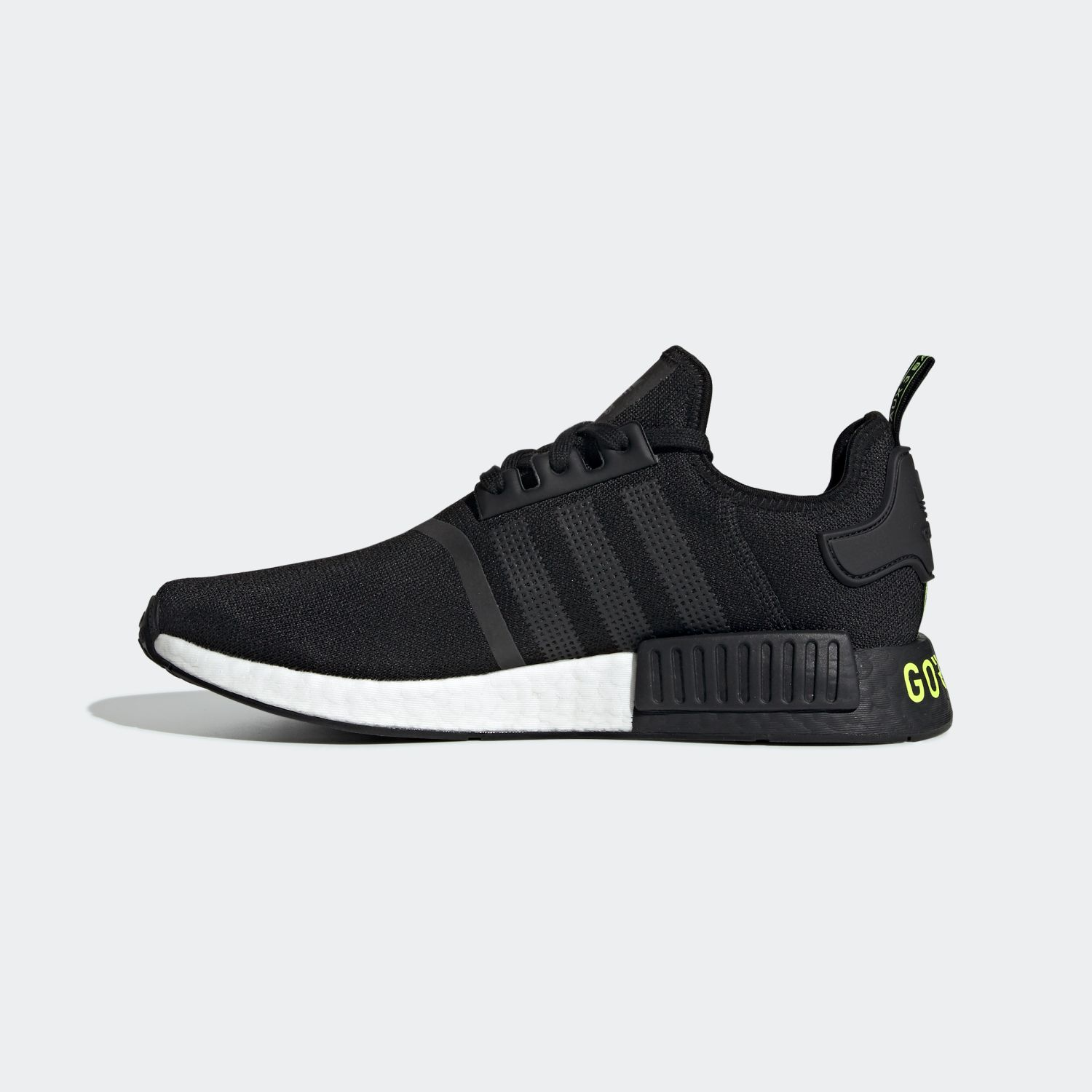 NMD R1 Gore-tex Core Black Solar Yellow [2]
