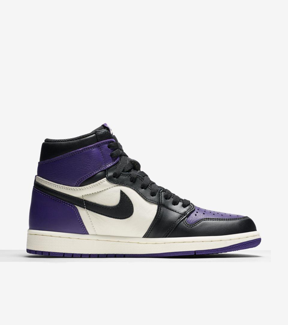 Air Jordan 1 Retro High Court Purple [2]