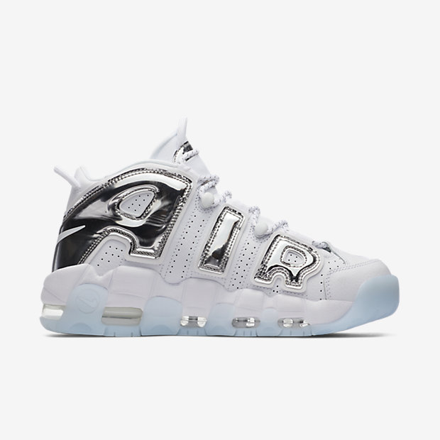 Air More Uptempo Chrome White (モアテン)(ウィメンズ) [2]