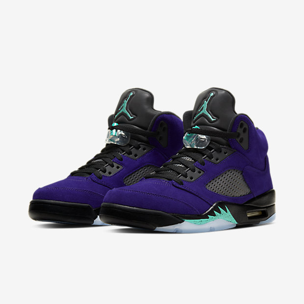 Air Jordan 5 Retro Purple Grape [4]