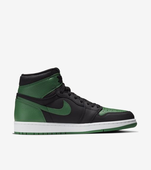 Air Jordan 1 Black/Pine Green [2]