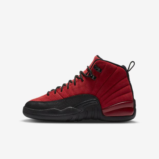 "Air Jordan 12 ""Reverse Flu Game"" (GSサイズ)"