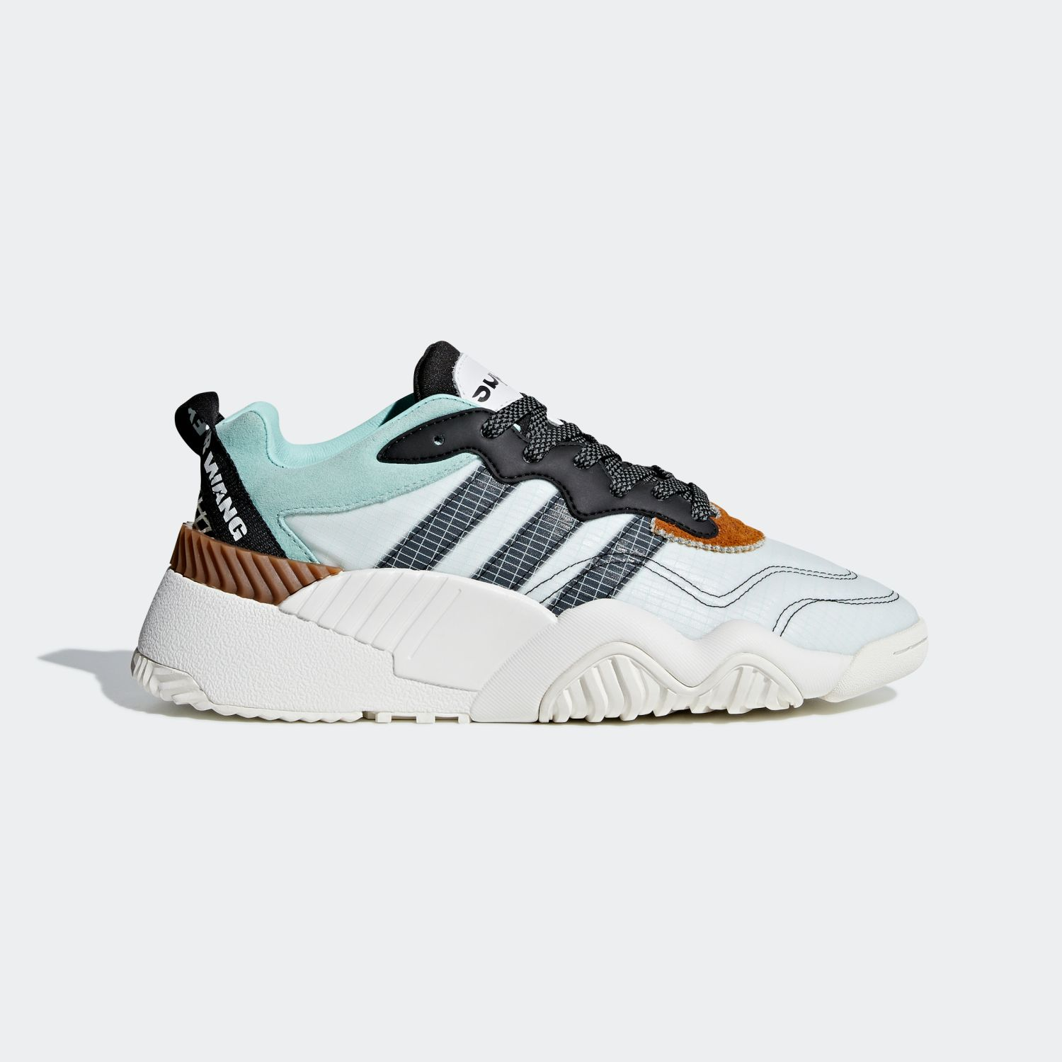 AW Turnout Trainer Alexander Wang Clear Mint Core Black