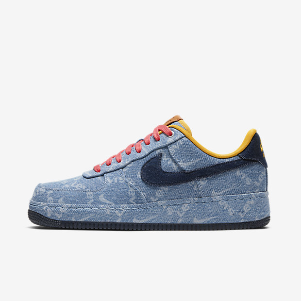 Air Force 1 Low Levis Exclusive Denim [1]