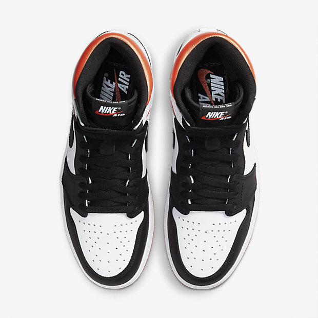 Air Jordan 1 Retro High OG Electro Orange [3]