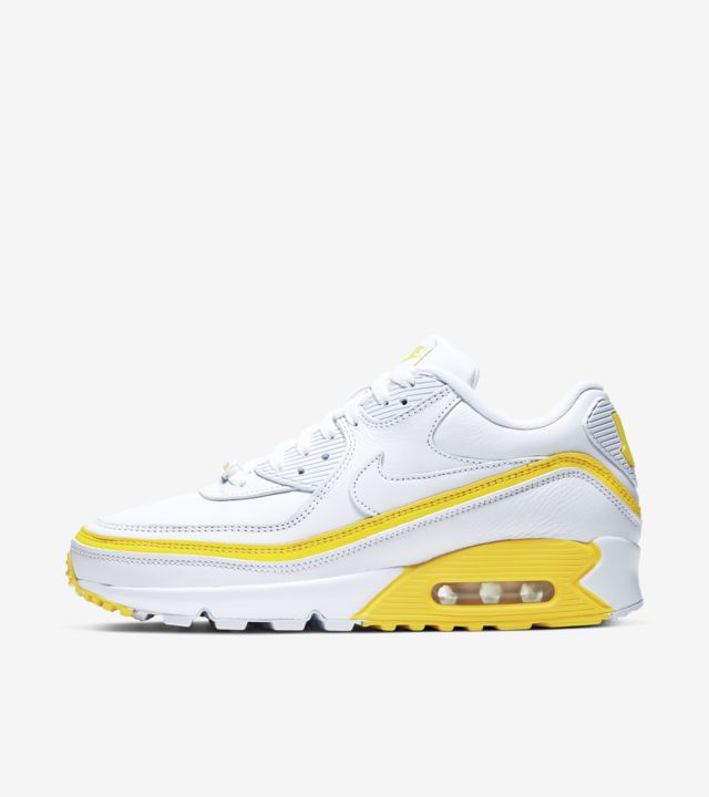 Air Max 90 Undefeated White/Opti Yellow [1]