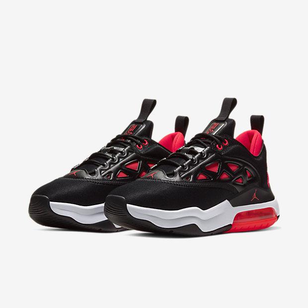 Jordan Air Max 200 XX Black Bright Crimson (ウィメンズ) [4]