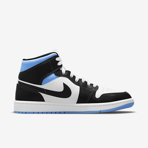 Air Jordan 1 Mid Black And Blue (ウィメンズ) [2]