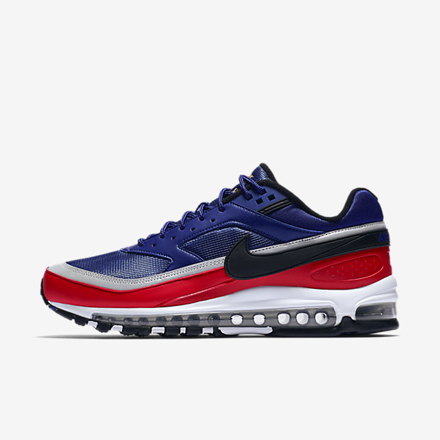 Air Max 97 BW Deep Royal Blue Black University Red