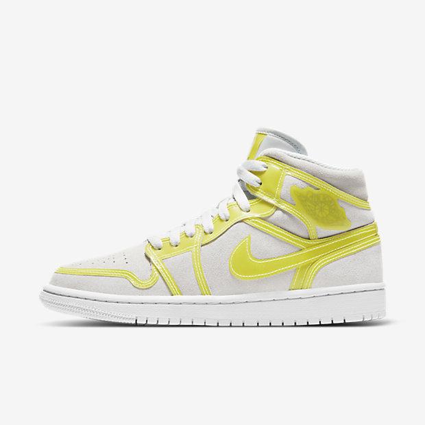 Air Jordan 1 Mid Opti Yellow (ウィメンズ) [1]