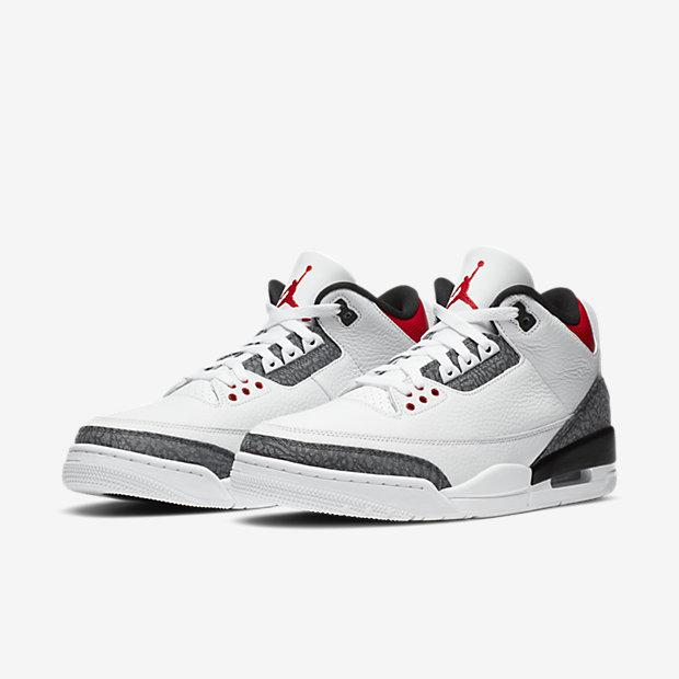 Air Jordan 3 Retro Fire Red Denim Japan [4]