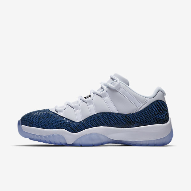 Air Jordan 11 Retro Low Snake Navy (2019)