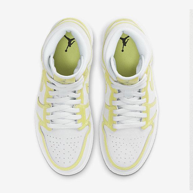 Air Jordan 1 Mid Opti Yellow (ウィメンズ) [3]