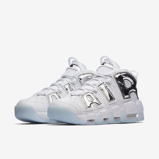 Air More Uptempo Chrome White (モアテン)(ウィメンズ) [4]