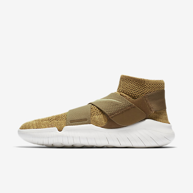 Free RN Motion Flyknit 2018 Golden Beige