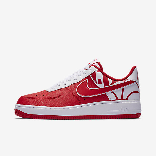 Air Force 1 Low Logo Pack University Red