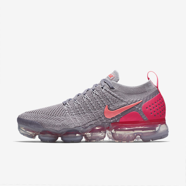 Air VaporMax 2 Atmosphere Grey Crimson Pulse (ウィメンズ)