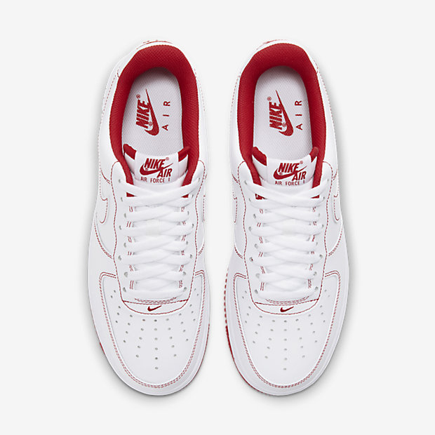 Air Force 1 Low White/ Radiant Red [3]