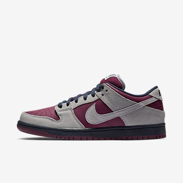 SB Dunk Low Atmosphere Grey True Berry