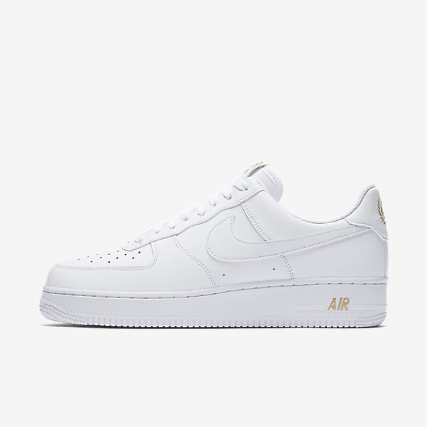 Air Force 1 Low Crest Logo White