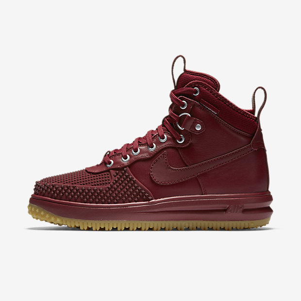 Lunar Force 1 Duckboot Team Red Gum