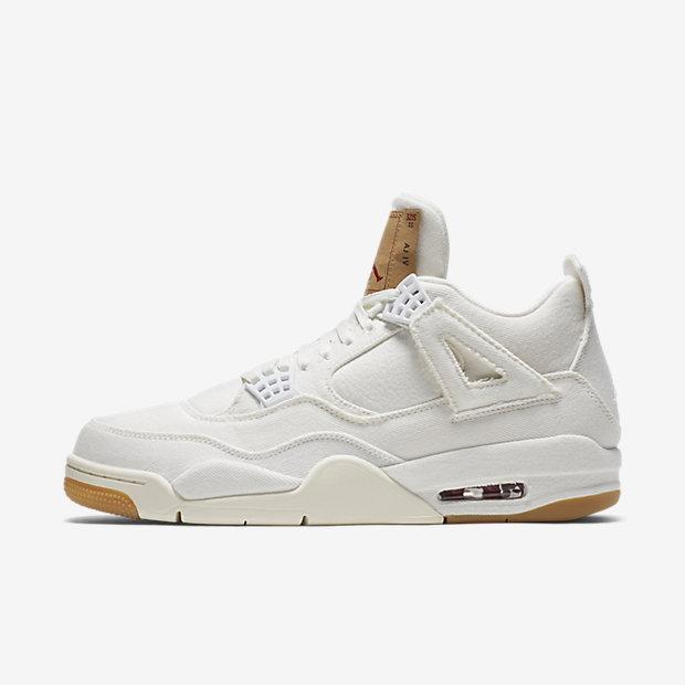 Air Jordan 4 Retro Levi's White (Levi's Tag) [1]