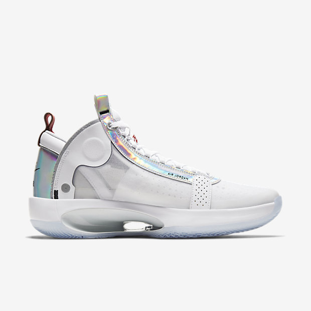 Air Jordan XXXIV White Metallic Silver [2]