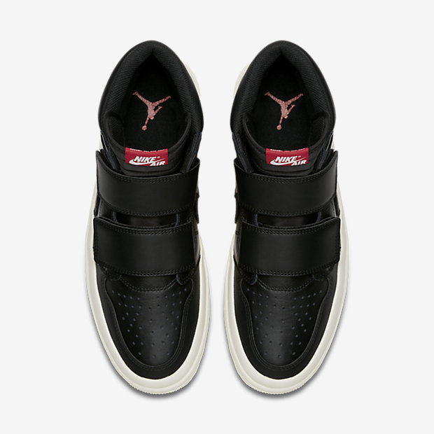 Air Jordan 1 Retro High Double Strap Black Sail [3]
