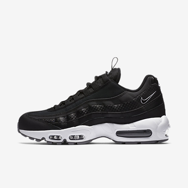 Air Max 95 Pull Tab Black White