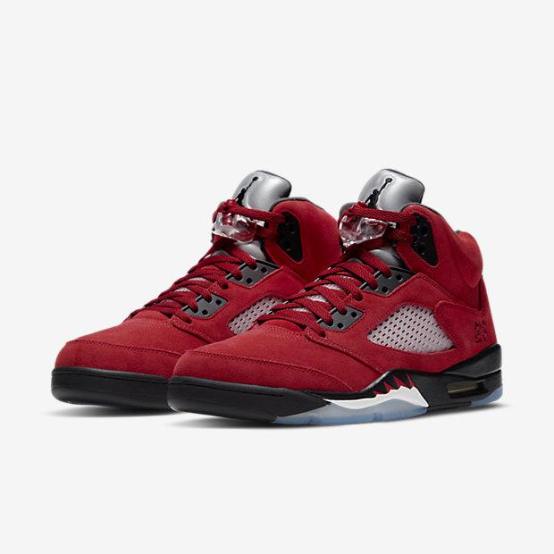 Air Jordan 5 Red Suede [4]