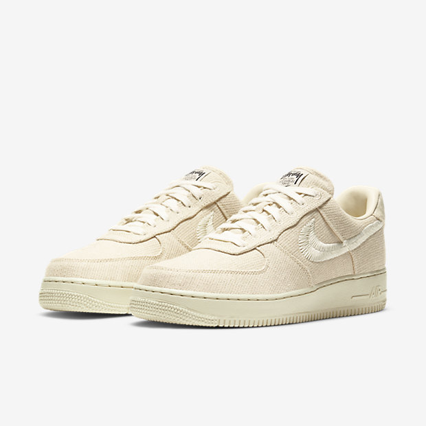 Stussy x Air Force 1 Fossil [4]