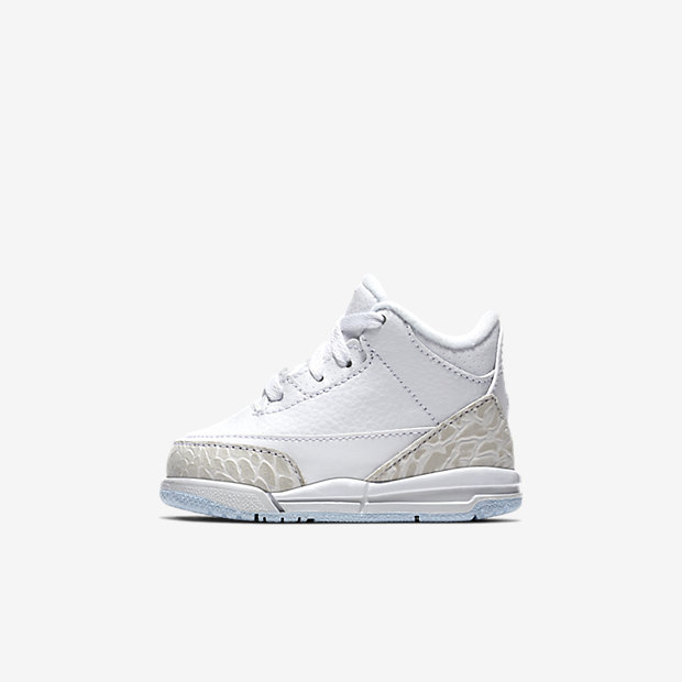 Air Jordan 3 Retro Pure White 2018 (TDサイズ)