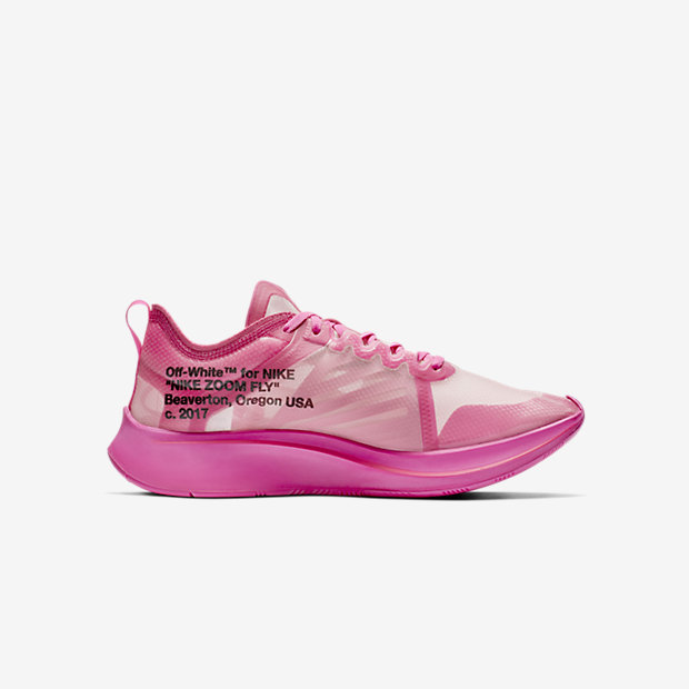Zoom Fly Off-White Pink(オフホワイト) [2]
