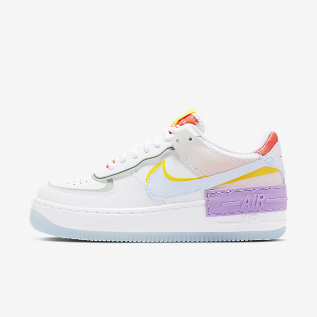 Air Force 1 Shadow White Hydrogen Blue Purple (ウィメンズ)