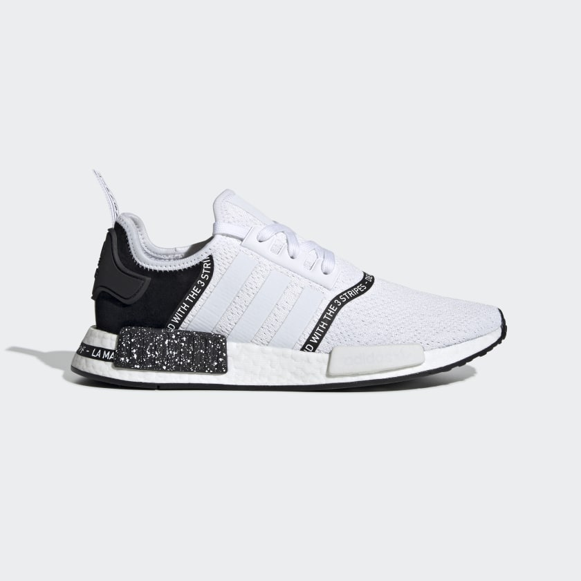 NMD R1 Speckle Pack White