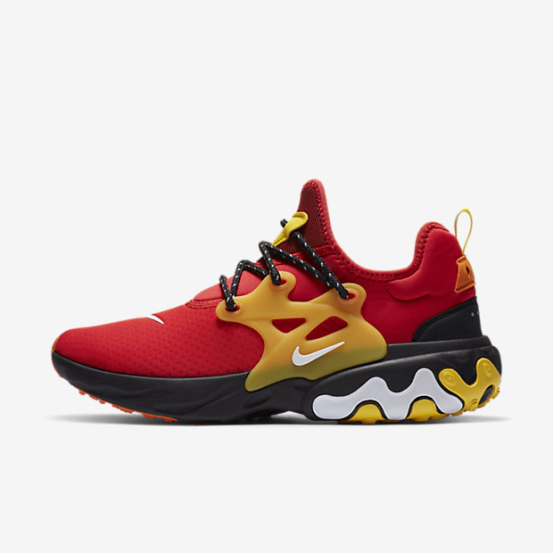 React Presto Chile Red Speed Yellow