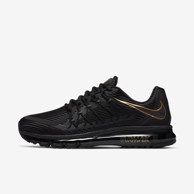 Air Max 2015  Black/Metallic Gold