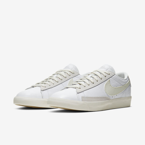 Blazer Low Leather White Sail (ブレーザー) [4]