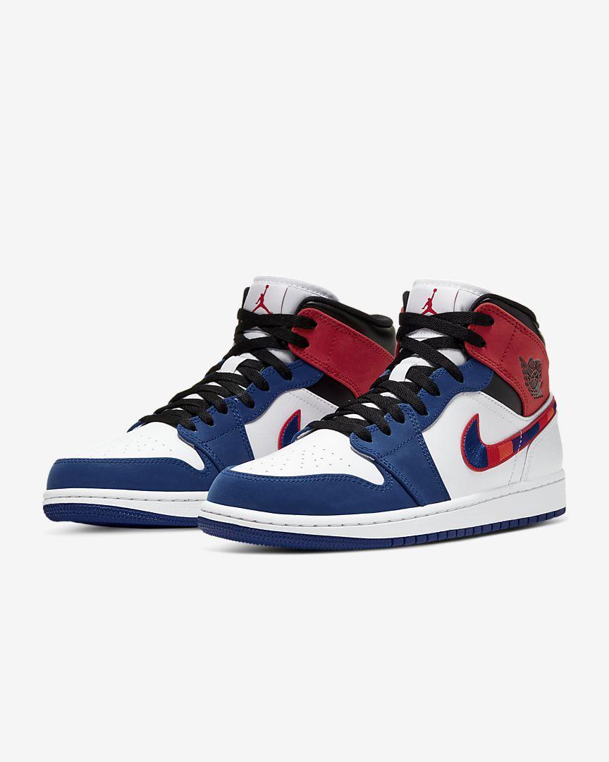 Air Jordan 1 Mid Rush blue [4]
