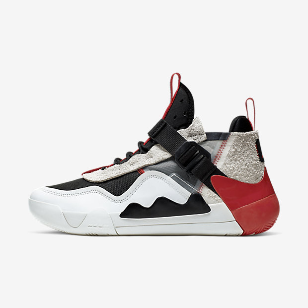 Jordan Defy White Black Red